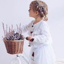 Cestas de bicicleta de ratán para niños, cestas de equilibrio de bicicleta para niños