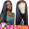 13x4 Lace Front Human Hair Wigs Pre-Plucked Brazilian Straight Hair Lace Frontal Wigs for Women Remy Jarin Bulk Sale 1-2 pcs/Lot