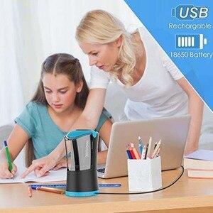 Image 5 - Elektrische Bleistift Spitzer mit Durable Helical Klinge zu Schnelle Schärfen USB Aufladbare Auto Stop Spitzer für 6 12mm durchmesser
