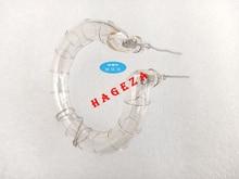 Nuova potenza 1200W anello Flash Tube lampada allo xeno Flashtube parte di riparazione SPEEDLIGHT temperatura 5500K (kelvin)