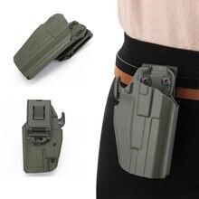Tático cinto arma coldre para glock 19 23 38 h & k usp vp9 ruger sig p225 pistola gota perna arma coldre saco caso caça acessórios