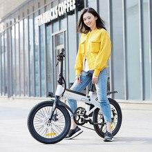Himo C20 20 Inch Vouwen 80Km Range Power Assist Elektrische Fiets Bromfiets E-Bike 10AH Opvouwbare E-fiets Fietsen Sport