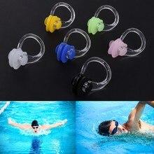 3 pçs sílica gel natação à prova dwaterágua nariz clipe nadar piscina de fitness pc tala nasal