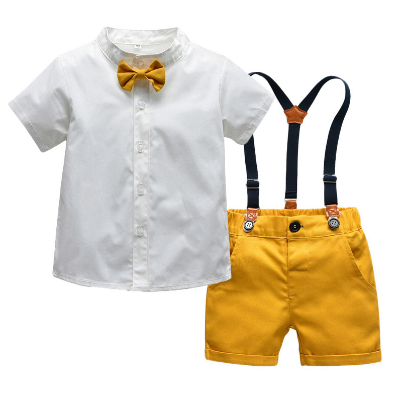 Summer Infant Casual Clothes Giraffe Tops Shorts Jeans Baby Toddler Boy Clothing Sets Kids Children Boys Outfits Suits 1
