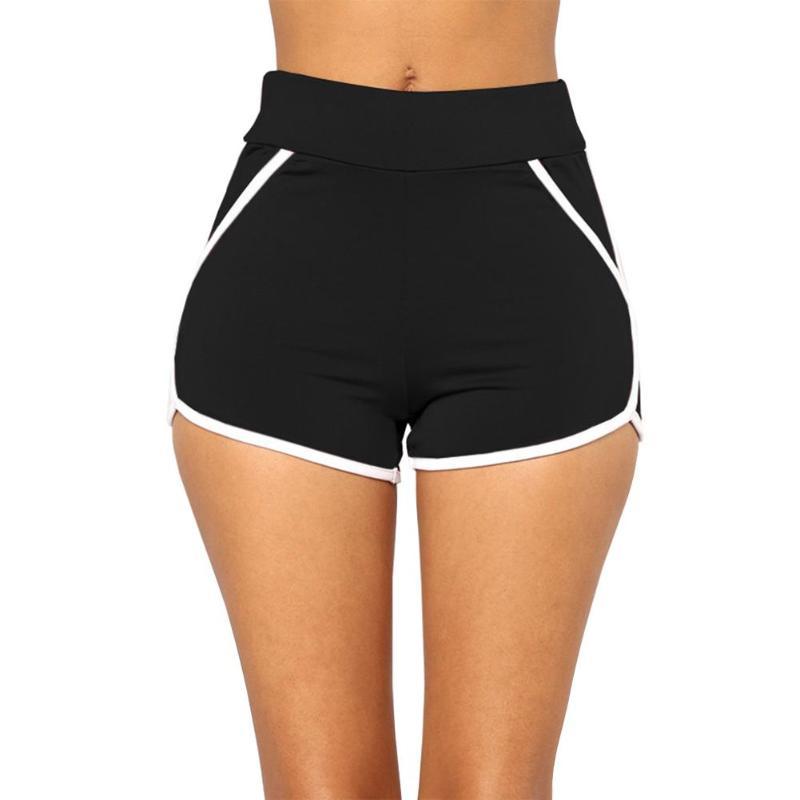 Women Fitness Sexy Beach Summer Elastic Shorts Casual Home Soft Sportwear Gym Jogging Running High Waist Bodycon Tight Shorts