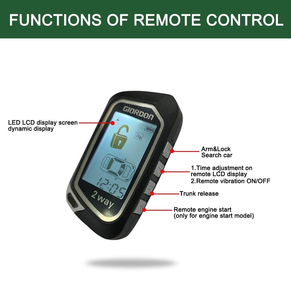 2 Way Plug N Play Keyless Entry Remote Starters Kit For Cars Mobile Phone Bluetooth App Remote Car Starter Car Alarm System Burglar Alarm Aliexpress