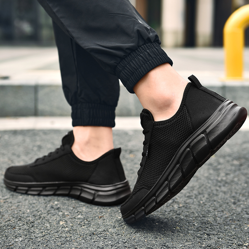 Men Casual Shoes Breathable Outdoor Mesh Light Sneakers Male Fashion Casual Shoes 2020 New Comfortable Casual Footwear Men Shoes 6