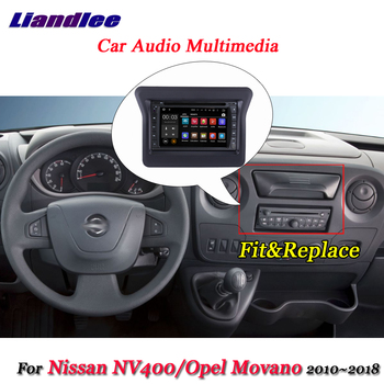 Liandlee Car Android System For Nissan NV400 / Opel Movano 2010~2018 Radio Frame GPS Navi MAP Navigation Screen Multimedia