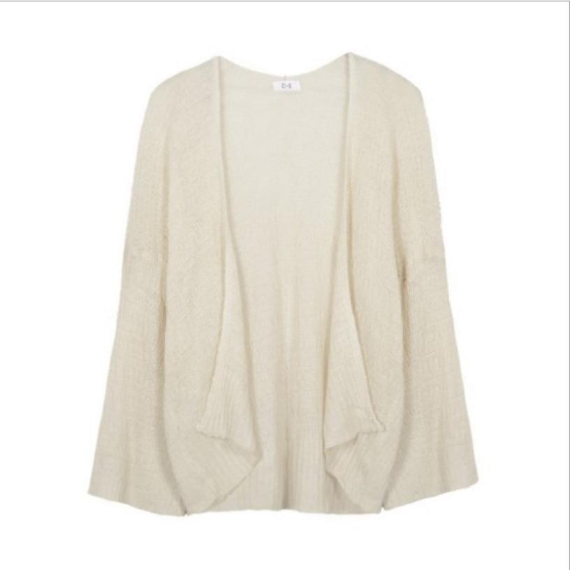 Kaguster Knitted Cardigan women's plus size Summer cardigan Sweater women's Loose Hollow coat kardigan Sweter Cardigans korean top 4