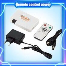 Uniwersalna kompatybilność HDMI do koncentrycznego RF skrzynka konwerterowa kabel Adapter z zdalną kontrola mocy zasilanie do konwersji TV