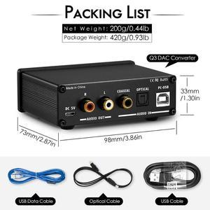 Image 5 - Douk オーディオミニハイファイ USB DAC ミニデジタルアナログコンバータ同軸/Opt ヘッドフォンアンプと高音低音