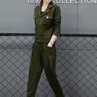 Women Army Green Lap...