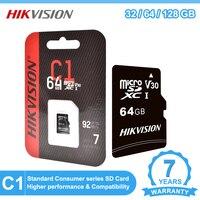 Hikvision Micro SD 128 GB 32GB 64GB Micro SD Karte SD/TF-Karte Speicher Karte 32 64 128 gb microSD für Telefon