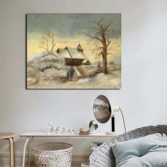 Edward Hopper Wall Art Paintings Printed on Canvas 3