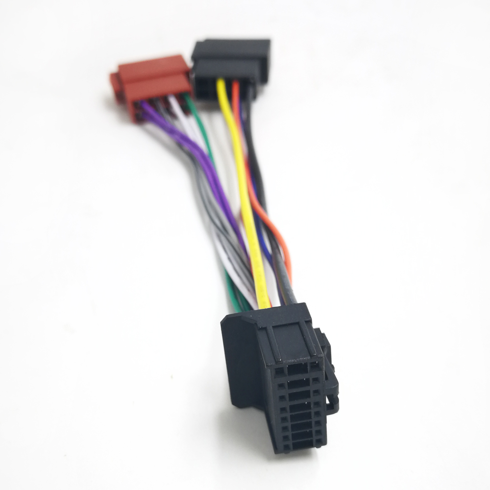[WLLP_2054]   Biurlink 16Pin Car Radio Stereo Wiring Harness Cable ISO Connector for  Alpine JVC ISO Connector|Cables, Adapters & Sockets| - AliExpress | Alpine Radio Wiring |  | AliExpress