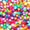 50/100 шт 10 мм Разноцветные Бусины