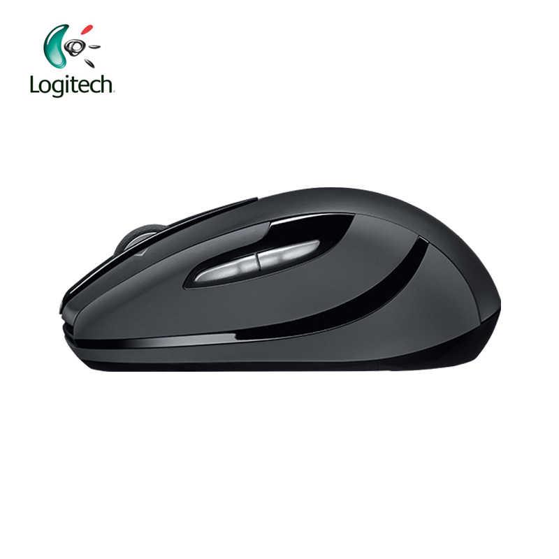 Mouse Logitech M546 Wireless Mouse Hitam Merah Perak Biru dengan 95.5G untuk Permainan PC Remote Dukungan Verifikasi Resmi 90 baru