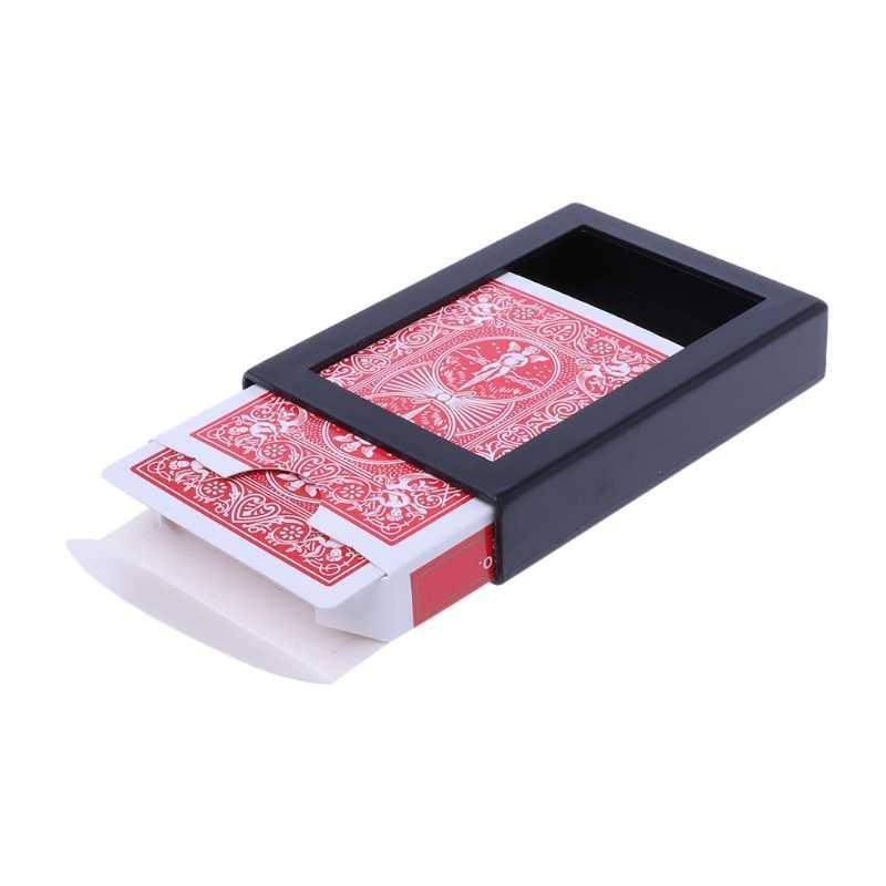 جديد تختفي التلاشي بوكر حافظة بطاقات عن قرب خدعة سحرية لعبة سهلة للقيام به