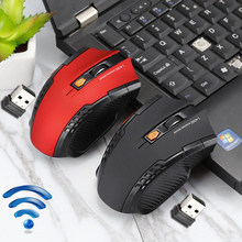 Profesional Mouse 2.4 GHZ Wireless Gaming Mouse Optik Nirkabel untuk PC Notebook Desktop Laptop Gaming Mouse Komputer(China)