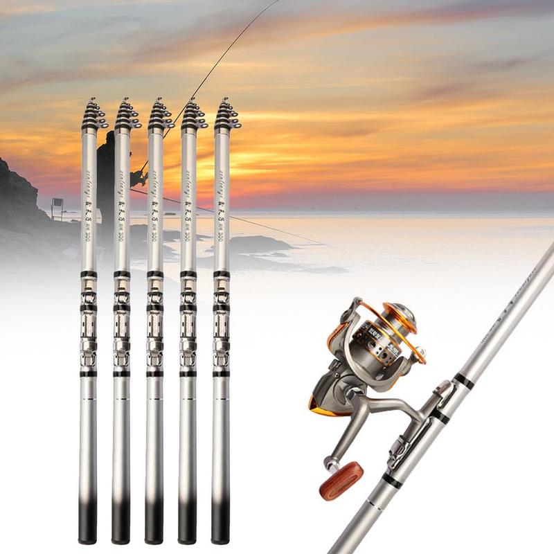 Short Section Rock Fishing Rod Sea Pole Super Tough Hand-Sea Dual Purpose Fishing  Carbon Super Hard Portable Rock Fishing Rod 1