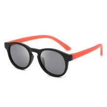 Children's Sunglasses Polarized Round Frame Eye Sun Glasses Not Painted Can Floa