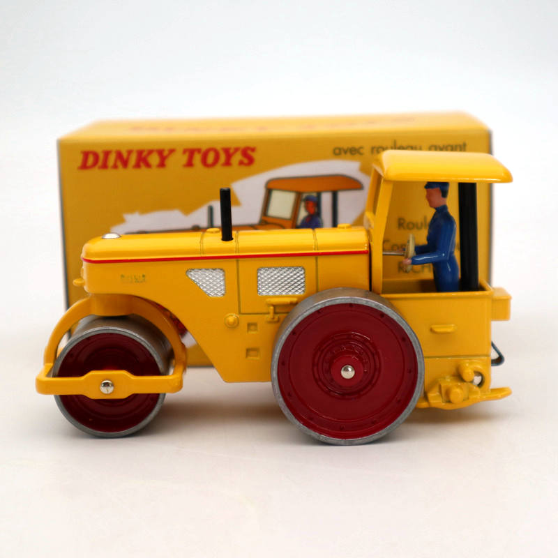 Atlas Dinky Toys 830 Rouleau Compresseur Richier Diecast Models Collection Car Gift