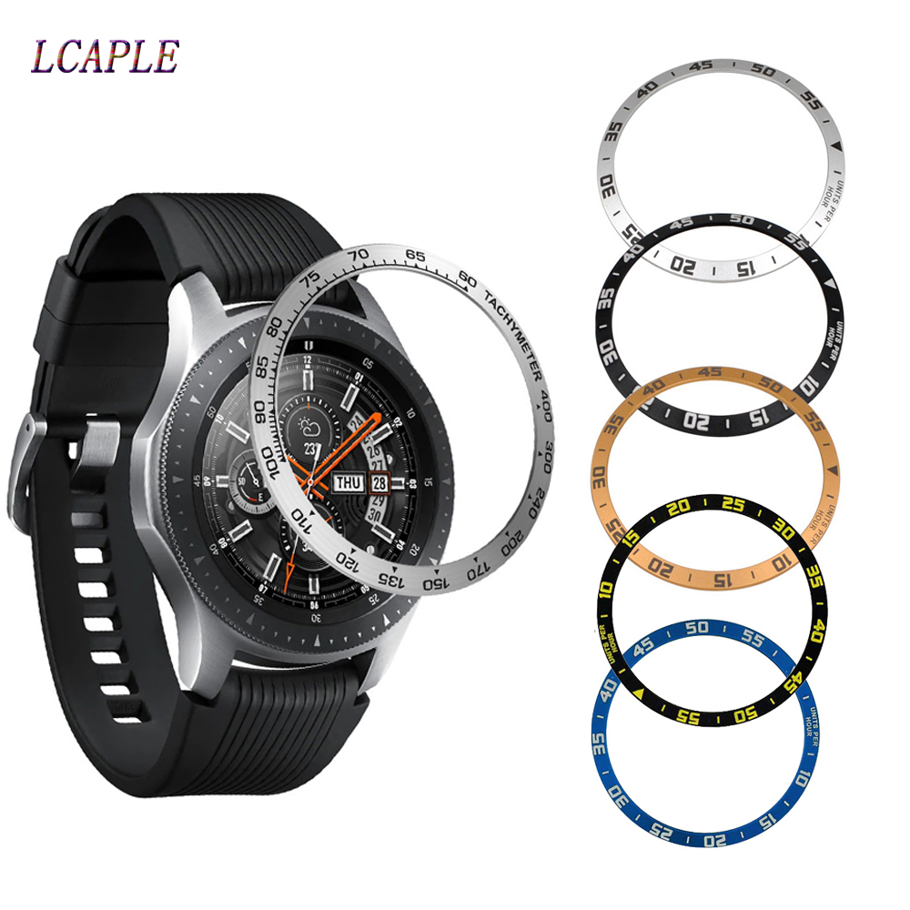 Gear S3 Cover For Samsung Gear S3 Frontier Galaxy Watch 46mm/42mm Ring Adhesive Cover Anti Scratch Smart Watch Accessories S3 46