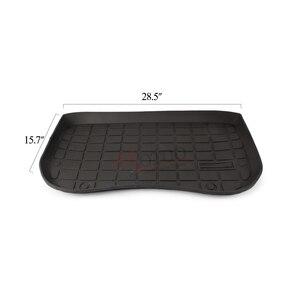 Image 4 - TPE Before rear  Cargo Tray Trunk Floor Mat Black Rubber Waterproof for Tesla Model 3 2017 2018 2019