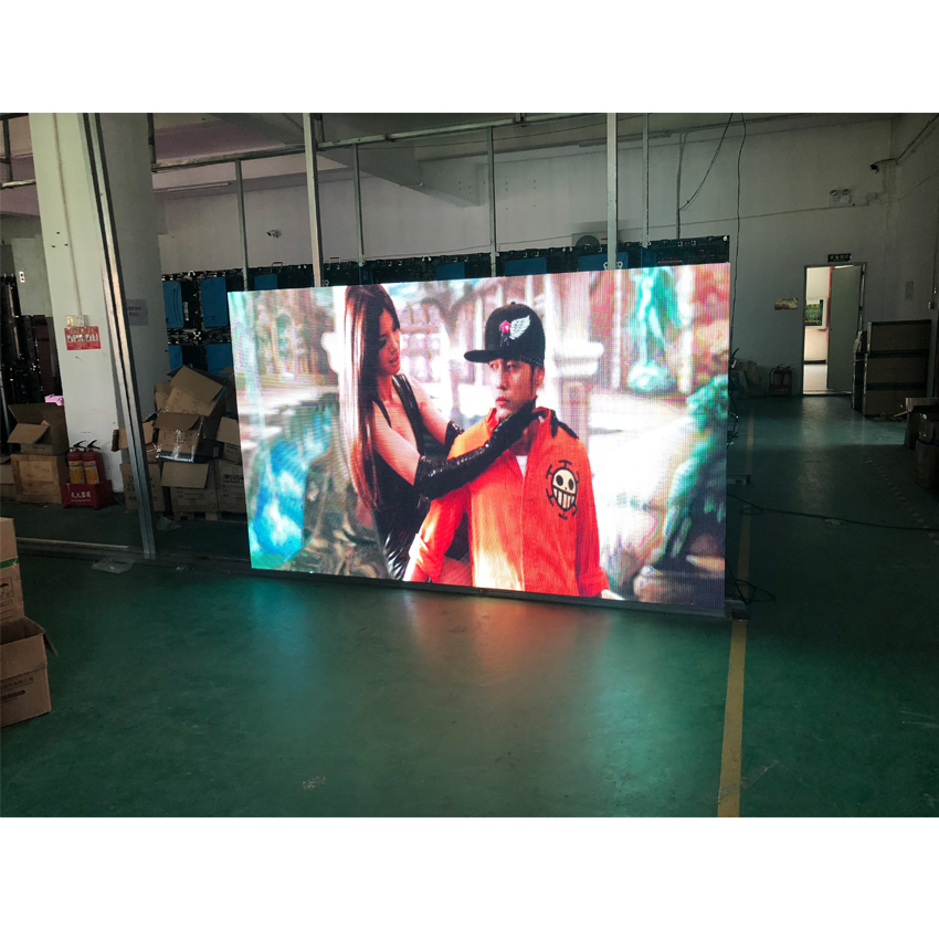 HD P3.91 Outdoor 128*128dots 500x500mm Die Cast Aluminum Cabinet Rental High Brightness Full Color LED Display For Advertising
