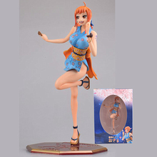New Anime Sexy Girls Nami Figure One Piece Figurine Kimono Short Skirt Nami PVC Action Figures Collection Model Toys Doll Gifts 22cm seven deadly sins jealousy style bikini leviathan sexy anime action figure pvc new collection figures toys doll model gift
