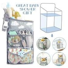 Baby Stroller Hanging Nursery Organizer Multifunctional Diaper Storage Bag Baby Diaper Organizer M09