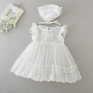 Новые Вечерние платья для маленьких девочек, 2020 г. Платье для маленьких девочек наряд для первого дня рождения для новорожденных Платья для ...