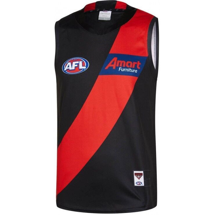 AFL ESSENDON BOMBERS 2019 MEN'S HOME JERSEY size S-3XL Print custom names and numbers Top quality Free shipping(China)