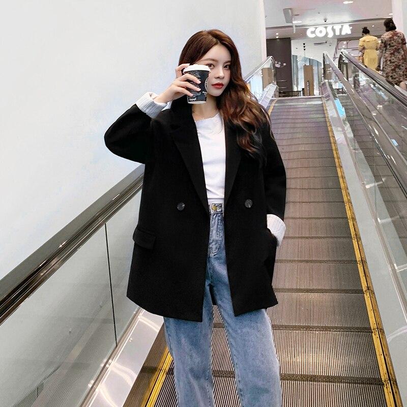 Women Office Lady Wear Suit Blazer Solid Casual Coat Jacket Long Sleeve Notched Collar Outwear Blazers