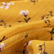 Shirt Fabric Silk Cotton 140cm-Width Clothing Rayon Modal Plaid Class-A Tencel High-End