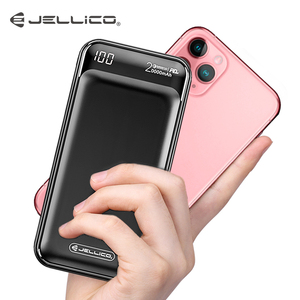 Image 2 - Jellico Power Bank 20000mAh LED Portable Battery Power Bank PD Fast Quick Charge 12V Powerbank for iPhone Xiaomi mi Power Bank