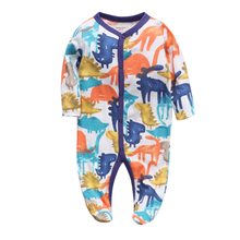 Long Sleeve Pajamas Spring Newborn Baby Clothes For Girls Boys baby girl clothes Jumpsuit Baby Clothing boy Kids Outfits jkbbsets winter baby clothing sets for girls boys cotton long sleeve pant kid children baby girl boy clothes underwear pajamas