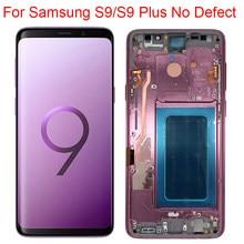 Oryginalny wyświetlacz S9 do Samsung galaxy S9 Plus LCD z ramką Super AMOLED do Samsung S9 G960F S9 Plus G965F wyświetlacz bez wad