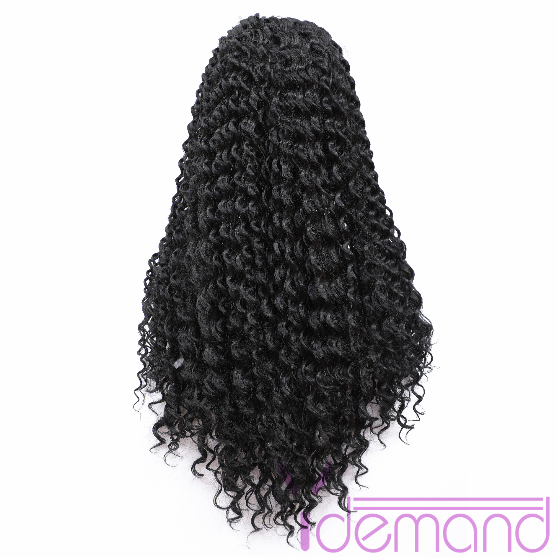 mulheres negras kinky curly machine made barato