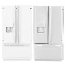 Deck Dollhouse-Furniture Refrigerator Wooden Birch Mini 1:12 for Double-Door