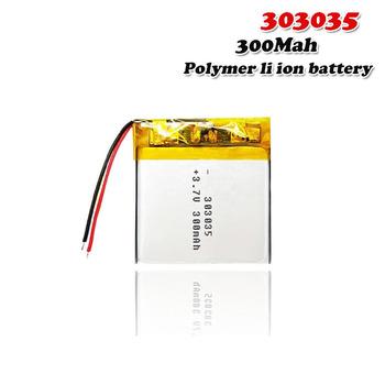 3 7V 350mAh 303035 litowo-polimerowa bateria litowo-jonowa do GPS MP4 system zasilania aparatu Bank Tablet zabawki elektryczne PAD DVD komórki Lipo tanie i dobre opinie EASTFIRE Litowo-polimerowy CN (pochodzenie) Tylko baterie 35x30x3mm 1 38x1 18x0 12 3 7~4 2V Lithium Polymer Battery lipo battery 3 7V
