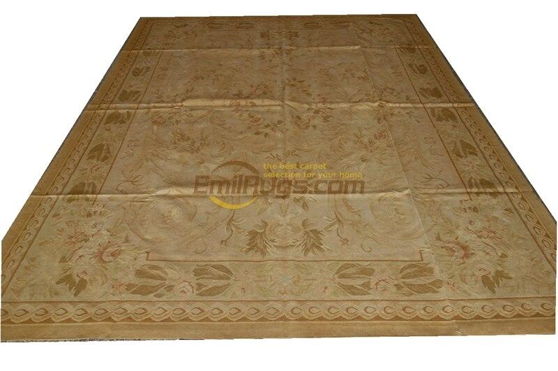 French Aubusson Carpets Xpa-008 8x10 4x6 So Beautiful Area VINTAGE DECOR Handwoven Gc8aubyg13