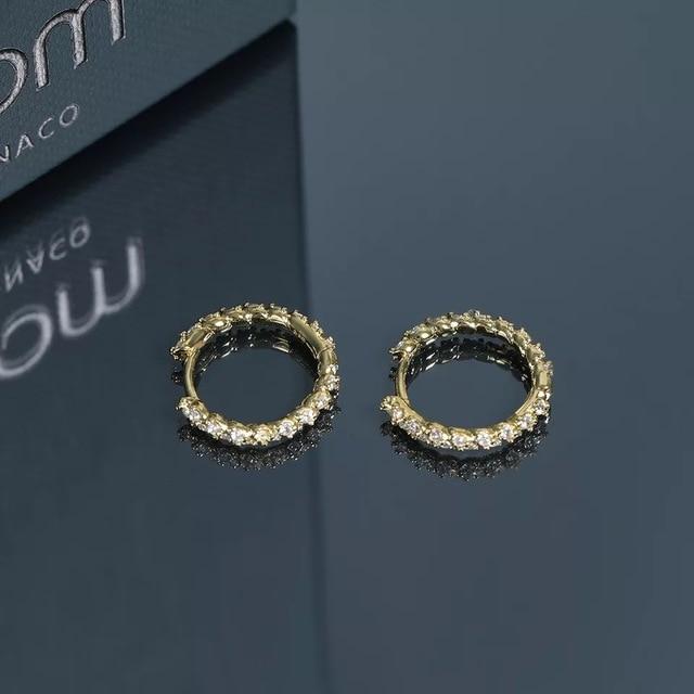 2019 Morocco  gold round simple delicate earrings special original stud earrings women girl gift