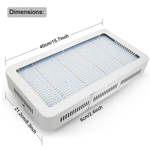 Image 4 - 600 واط/300 واط LED تنمو ضوء الطيف الكامل الأحمر + الأزرق + الأبيض + UV + IR AC85 ~ 265 فولت Led مصباح النبات ل حوض السمك غرفة مساعدة لنمو الفطر البستنة