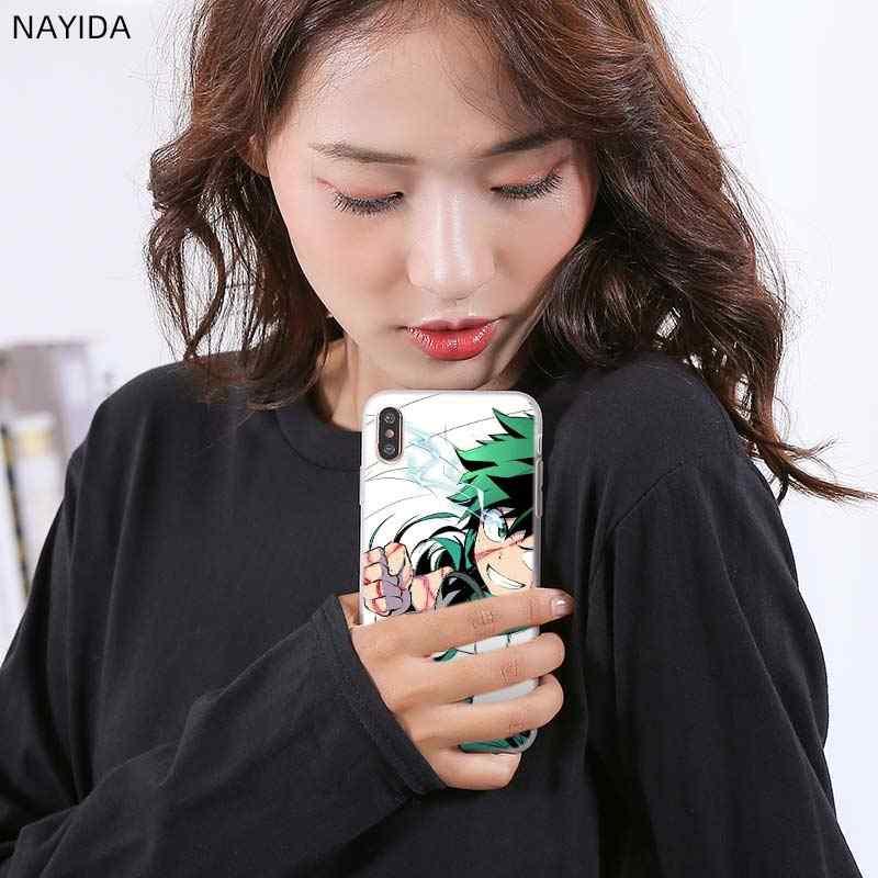 Telefoon Geval Voor Huawei P40 P10 P20 P30 Lite Plus Pro P8 P9 Lite P Smart Z 2019 Cover Mijn boku Geen Hero Academia Todoroki Shouto