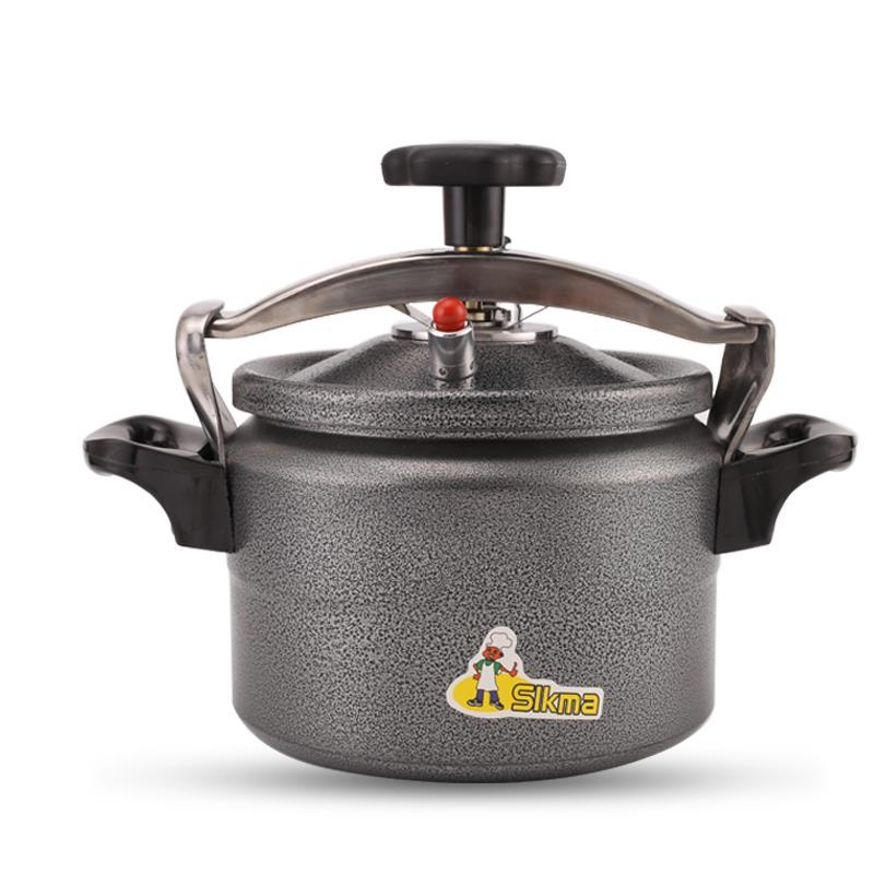 Explosion-proof Small Pressure Cooker Household Aluminum Pressure Cooker Black Open Flame Gas Autoclave Tiger Rice Cooker Pressu 1