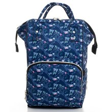 Laci Pattern Mother Baby Backpack