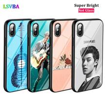 Black Cover Shawn Mendes 98 for iPhone X XR XS Max for iPhone 8 7 6 6S Plus 5S 5 SE Super Bright Glossy Phone Case black cover japanese samurai for iphone x xr xs max for iphone 8 7 6 6s plus 5s 5 se super bright glossy phone case