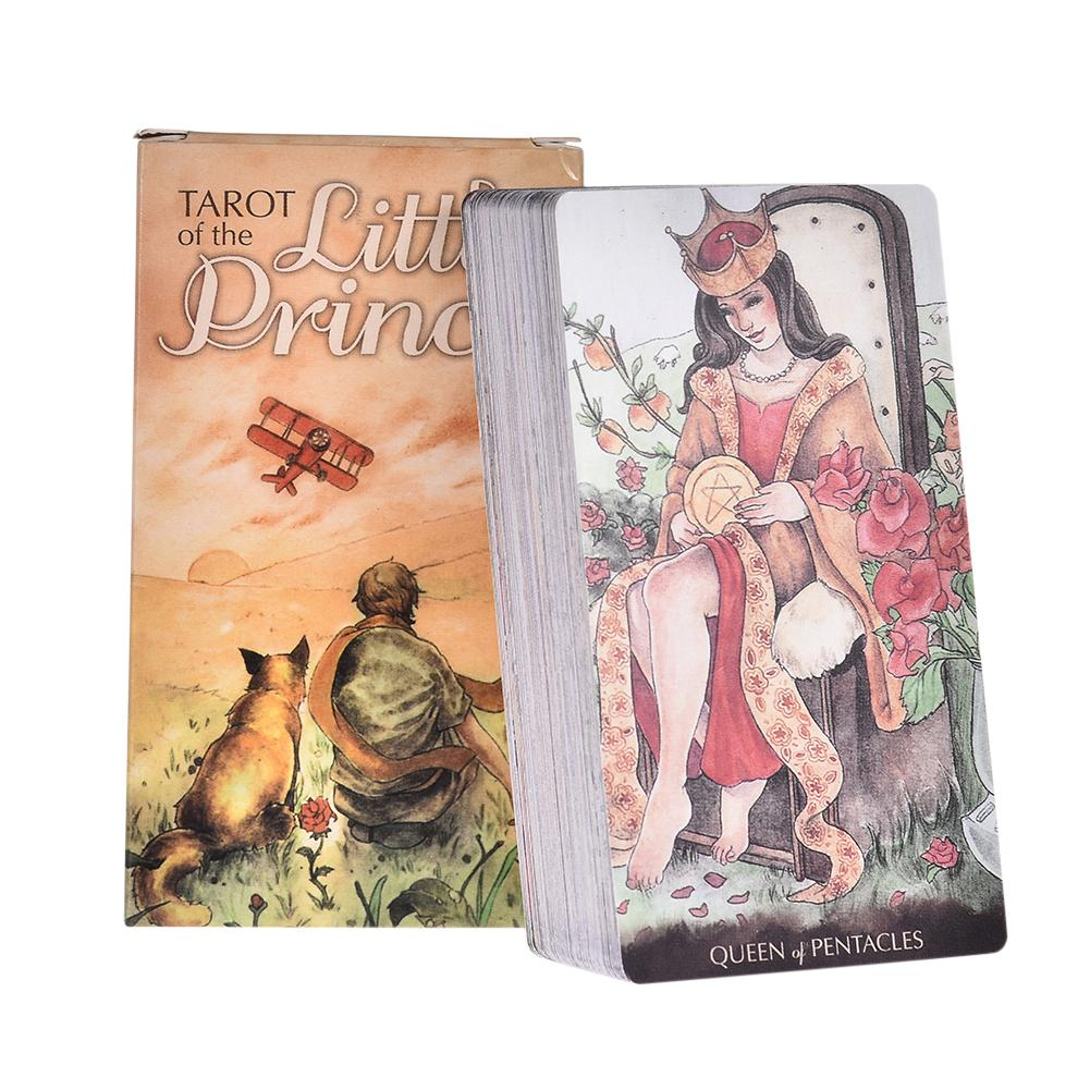 2020 NEW Tarot Of The Little Prince English Tarot Cards Fate Divination Playing Card Portable Party Board Game Toy FREE SHIPPING