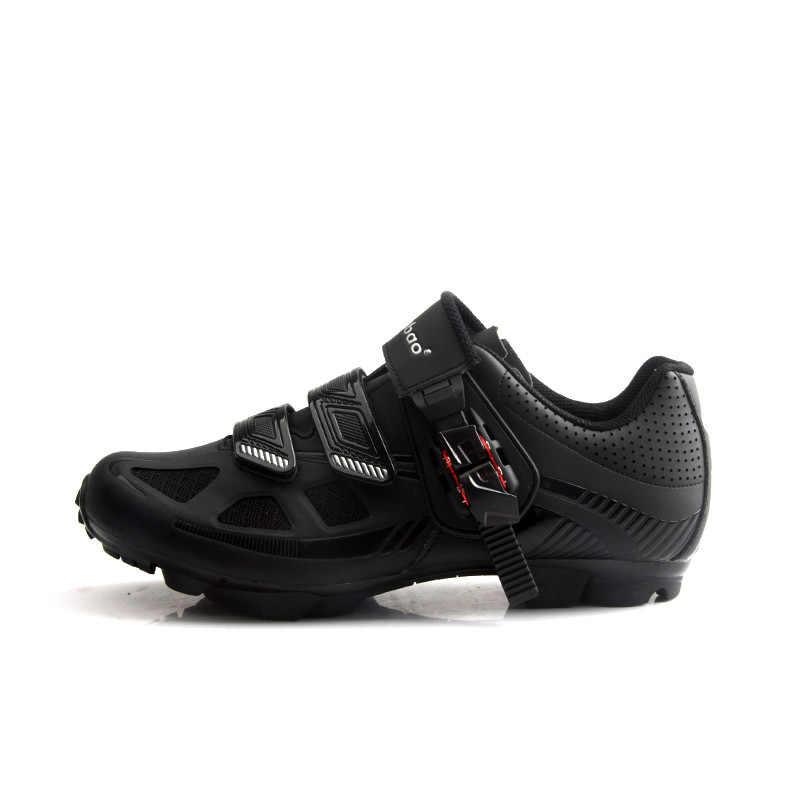 Велосипедная обувь Tiebao Мужская MTB обувь SPD Sapatilha Ciclismo Mtb профессиональная самоблокирующаяся велосипедная обувь уличные дышащие кроссовки